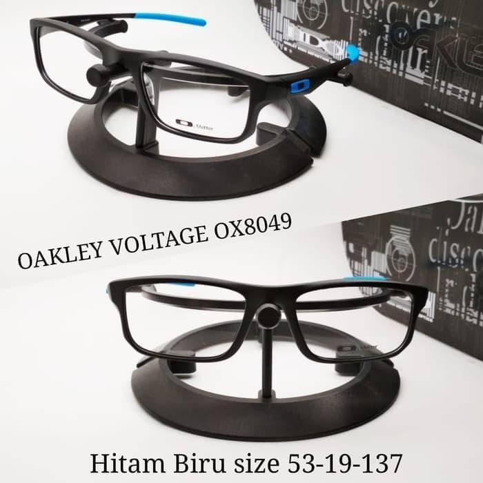 Jual kacamata Oakley voltage frame bagus paket lensa Blue ray - GAM ... 4729bd8a02