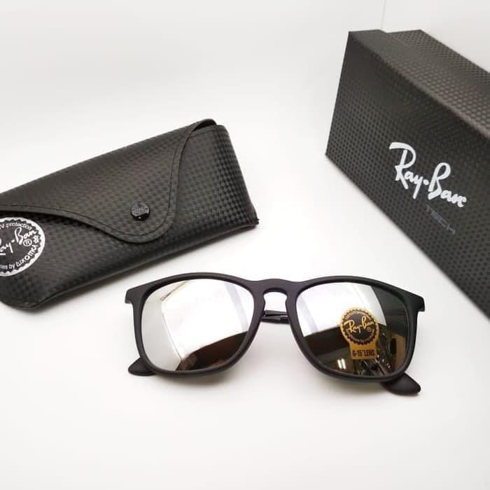 33b66e8378572 Jual Kacamata Rayban Chris lensa kaca kualitas grade ori - Terbaik ...