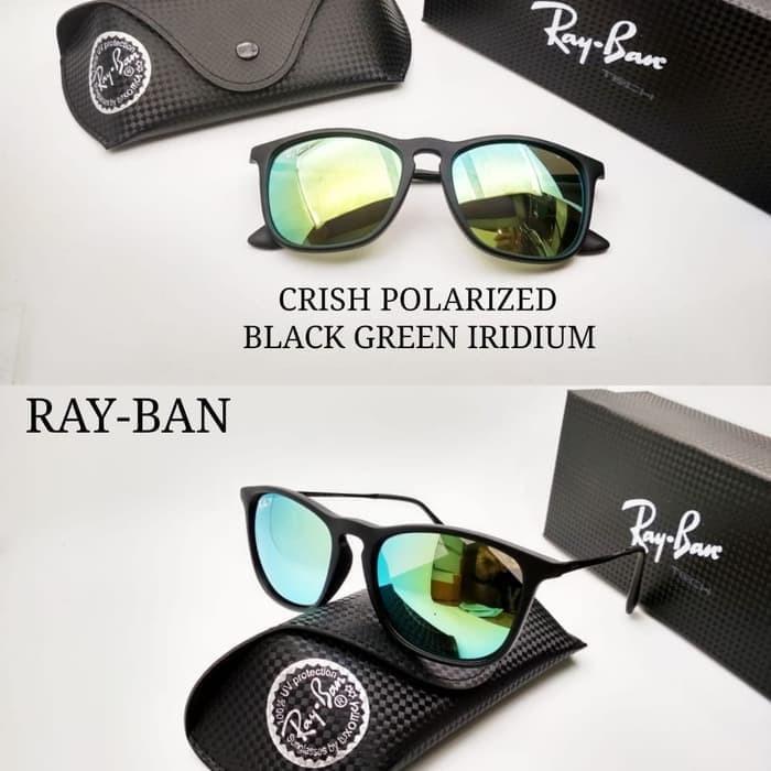 868c301b89af2 Kacamata Rayban Chris lensa polarized kw super premium - Terbaik