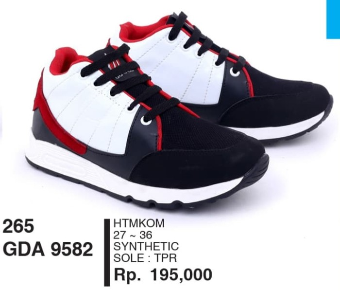 Sepatu Kets Anak Laki-laki GDA 9582 Garsel