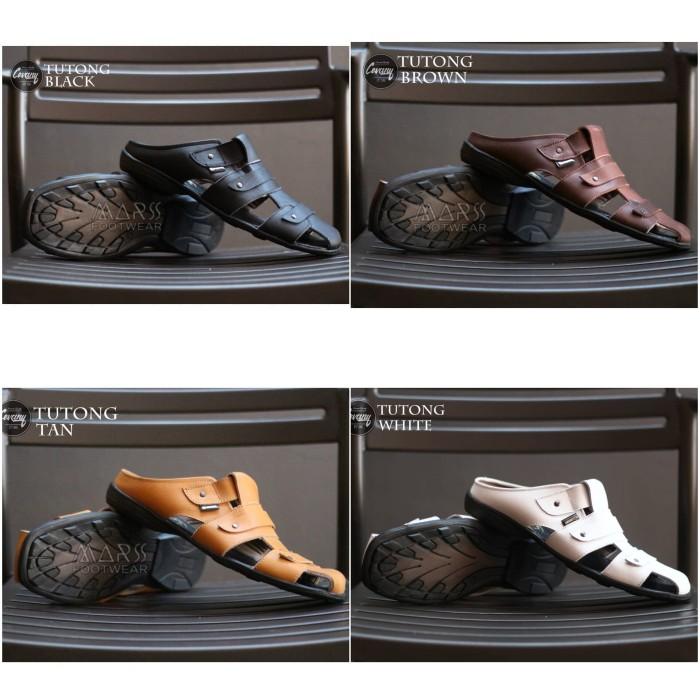 Jual Cevany Tutong Original Sepatu Sandal Pria Kulit Asli Terbaru ... 36601e9c72
