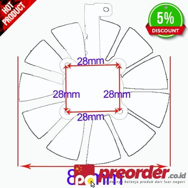 Jual T129215SU Cooler Fan UNTUK ASUS Strix RX480 RX 580 GTX 980Ti R9 390 -  Kab  Pemalang - tokosuper3 | Tokopedia