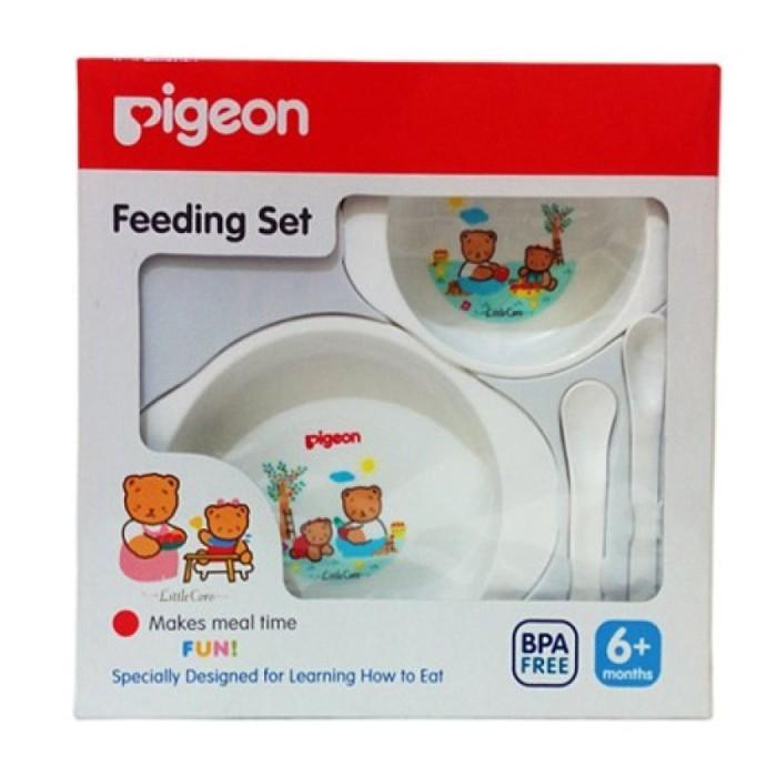 Jessenbabyshop Pigeon Feeding Set mini 6m
