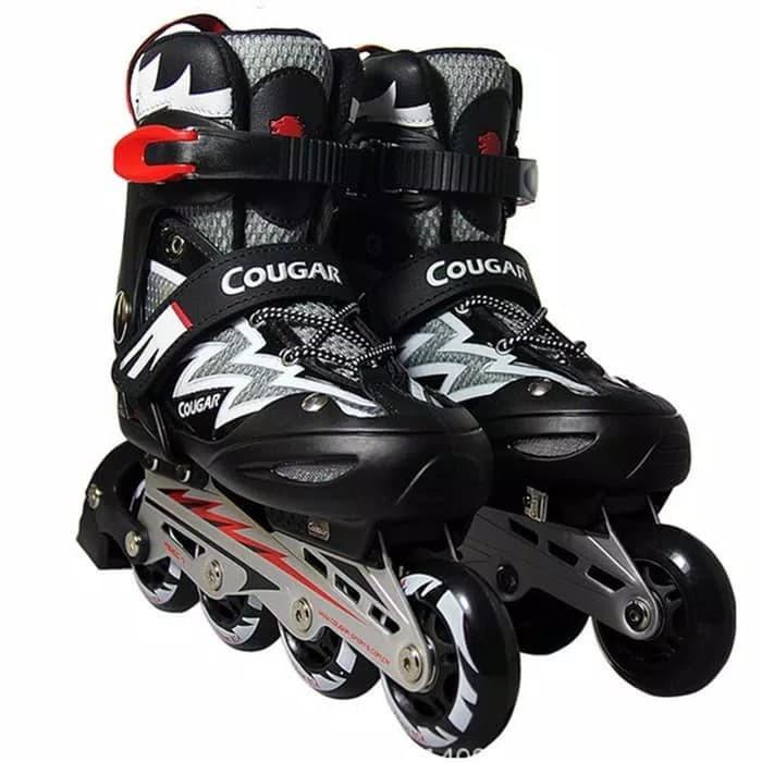 Cougar Mzs835l Sepatu Roda Inline Skate Black Silver - Daftar Harga ... 5d7d9ee3b1