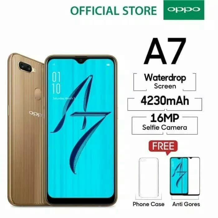 Jual Hp Oppo A7 Kota Semarang Taufik Store Tokopedia