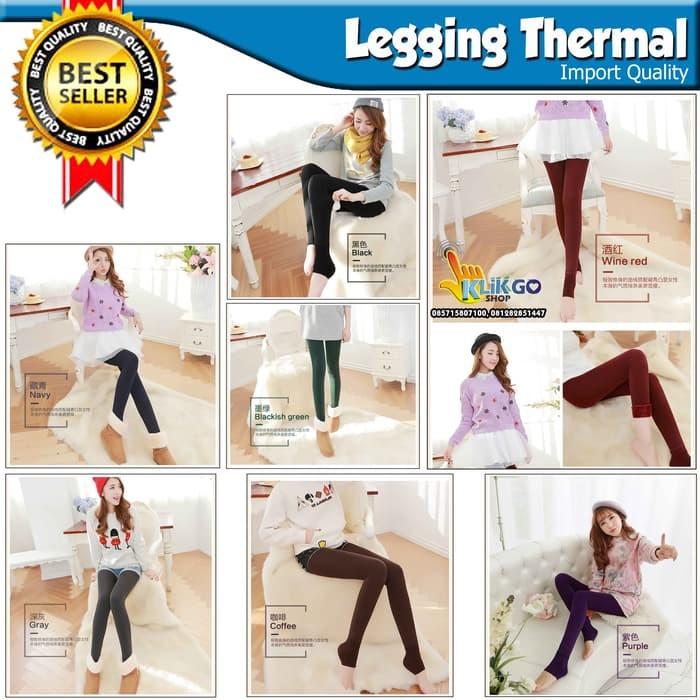 ab31993c4549fc Jual Celana Legging LEGGING THERMAL TEBAL IMPORT LAPIS WOOL MUSIM ...