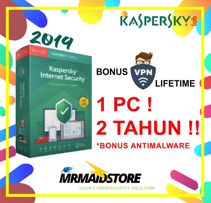 harga Antivirus kaspersky internet security / kis 1 pc 2 tahun Tokopedia.com