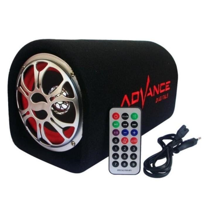 harga Advance tp 105 bt speaker ac dc portable size 12 inch suport bluetooth Tokopedia.com