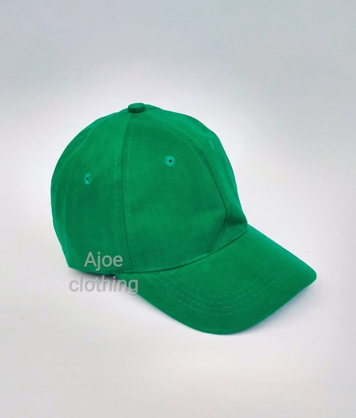 Jual topi polos pria wanita model baseball bahan rafel inport ... c3755e125c