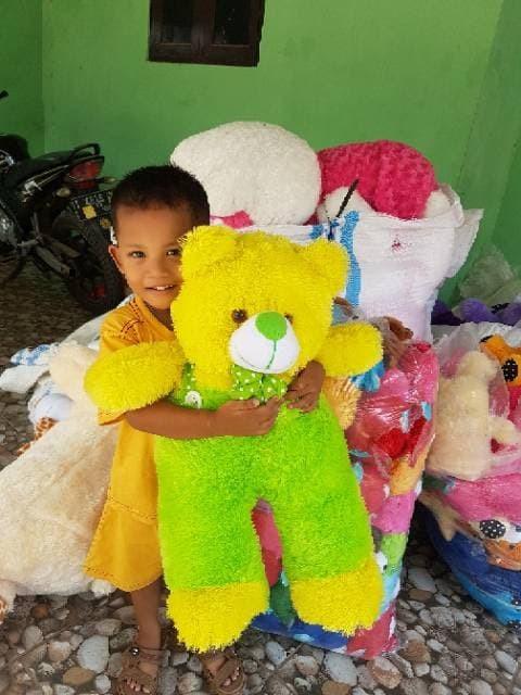 Boneka bear jojon xl 60cm