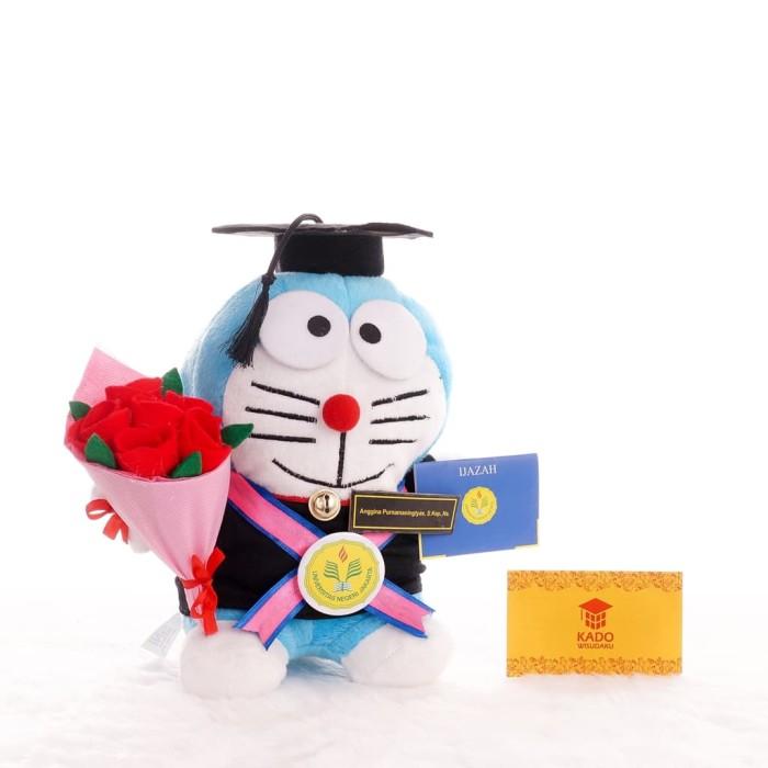 Boneka Wisuda Doraemon - Blanja.com