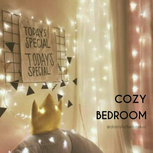 Desain Kamar Tidur Lampu Tumblr jual lampu tumblr led hias kamar tidur warmwhite jakarta selatan sun jaya online tokopedia