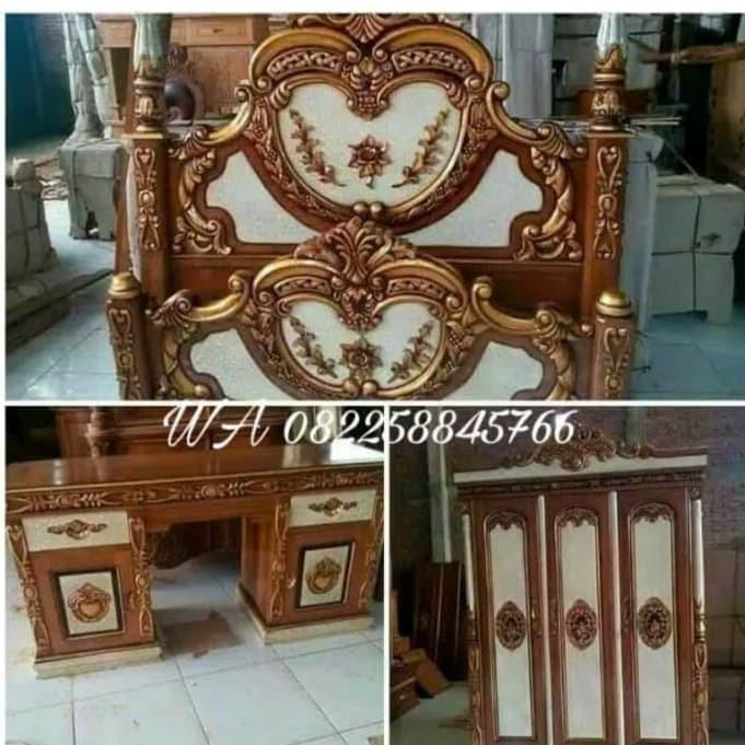 Jual Kamar Set Kayu Jati Paket Hias Furniture Ukir Jepara Gratis Ongkir Kab Jepara Putra Jati Ukir Jepara Tokopedia