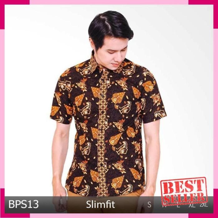 Jual Kemeja Pria Lengan Pendek Baju Murah Model Terbaru Atasan Batik ... a73987b97c