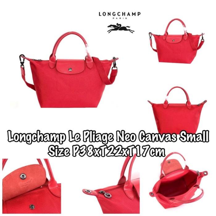 Longchamp Le Pliage Neo Canvas Small E