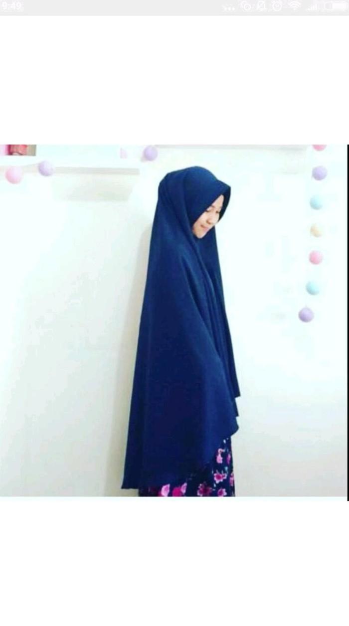 promo kerudung hijab khimar pet syari super jumbo xxl