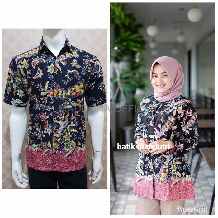 Jual Kemeja Batik Wanita Atasan Batik Wanita Baju Batik Couple Motif Phoen Dki Jakarta Maddona Official Tokopedia