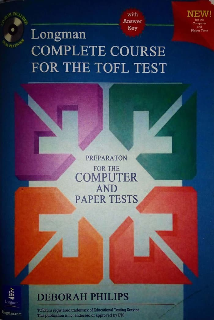 Longman complete course for the TOEFL test (libro+CD-ROM)