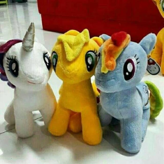 Jual Boneka Kuda Poni Lucu My Little Pony Unicorn Kuda Terbang Jakarta Pusat Boneka Tasya Tokopedia