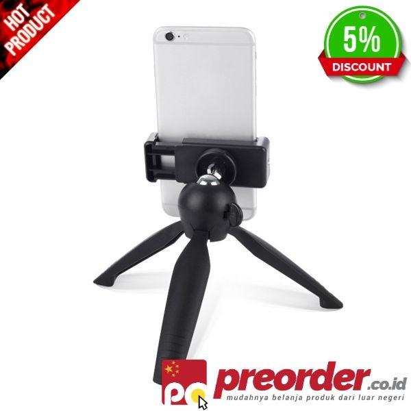 Gosear Mini Ponsel Tripod Holder Stand Mount Bracket untuk iPhone 7