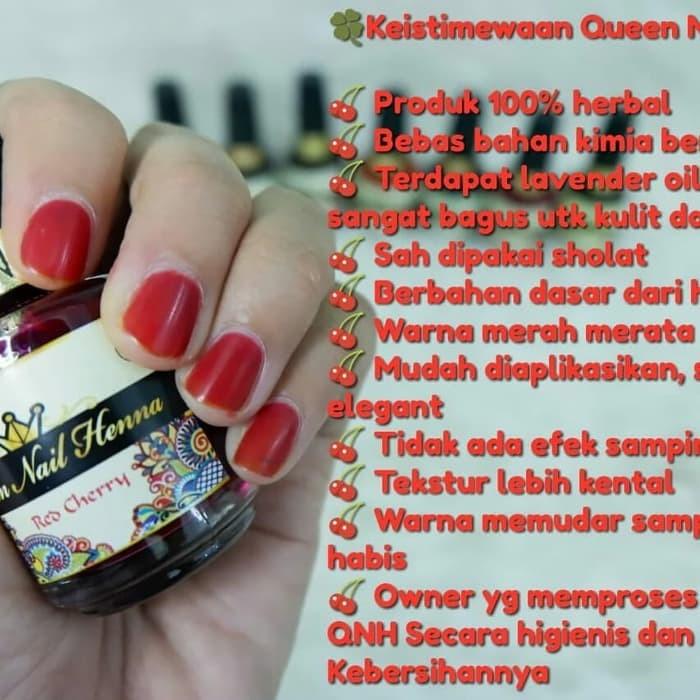 Jual Queen Nail Henna Lizzienellc Tokopedia