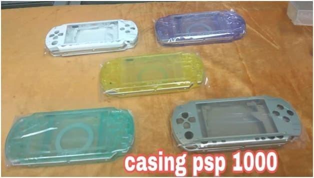 Foto Produk Casing Cesing Kesing PSP 1000 Hausing Housing Case Warna Transparan dari exxengame
