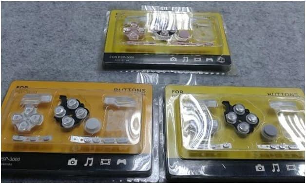 Foto Produk Tombol Karet Warna Mesin Keypad PSP 2000 3000 dari exxengame