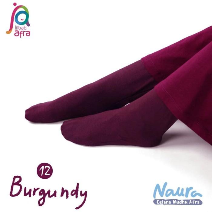 Jual Terbaru Naura Celana Legging Kaos Kaki Wudhu By Jilbabafra Burgundy Kab Bantul Gamis Anak Murah Tokopedia