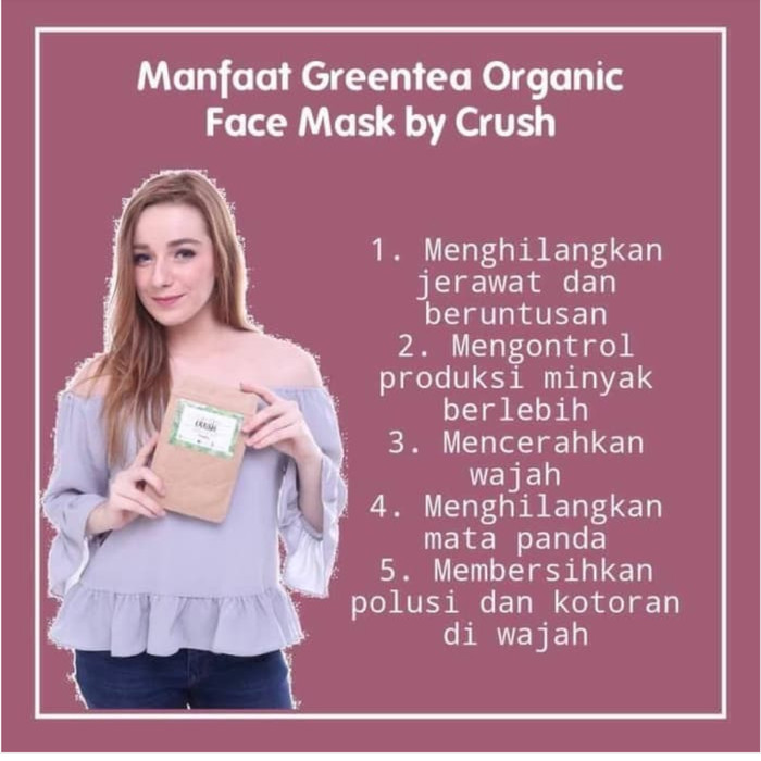 Greentea Mask by Crushlicious