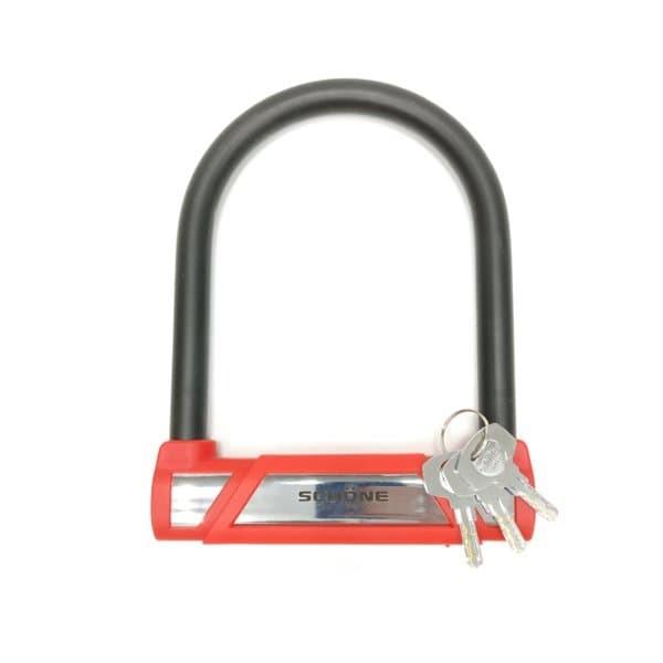 SCHONE Gembok Motor/Sepeda/Pintu Gerbang SC-210 - Merah