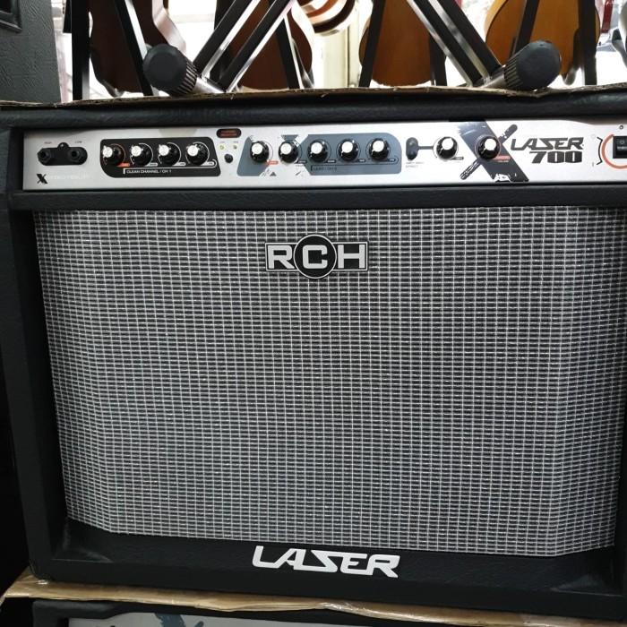 harga Amplifier guitar rch laser 700 laser700 ampli gitar 15 inch speaker Tokopedia.com