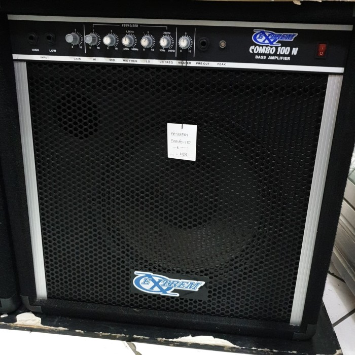 harga Amplifier bass ampli bass extrem combo 100n 12 inch speaker promo Tokopedia.com