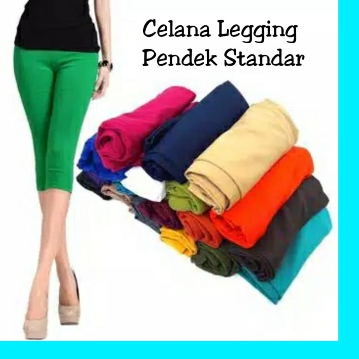 Jual Celana Legging Pendek Standar Grosir Min Order 10 Pcs Kota Depok Grosirkaosdistroterbaru Tokopedia