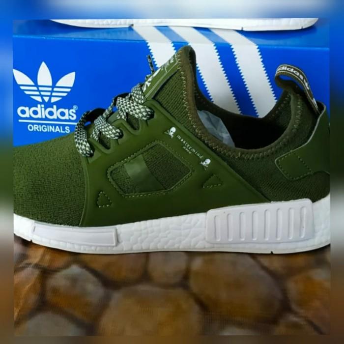 cfcddc719 Jual Sepatu Adidas NMD Mastermind Japan   ADIDAS PREMIUM - Green