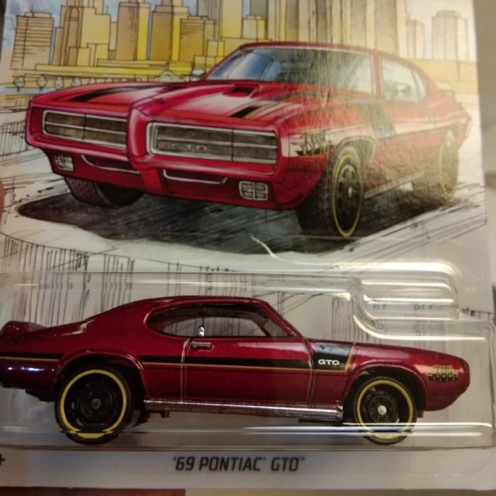 Jual Hot Wheels 69 Pontiac Gto Detroit Muscle Cars Series Kab Bogor Legenda Rabbit Tokopedia