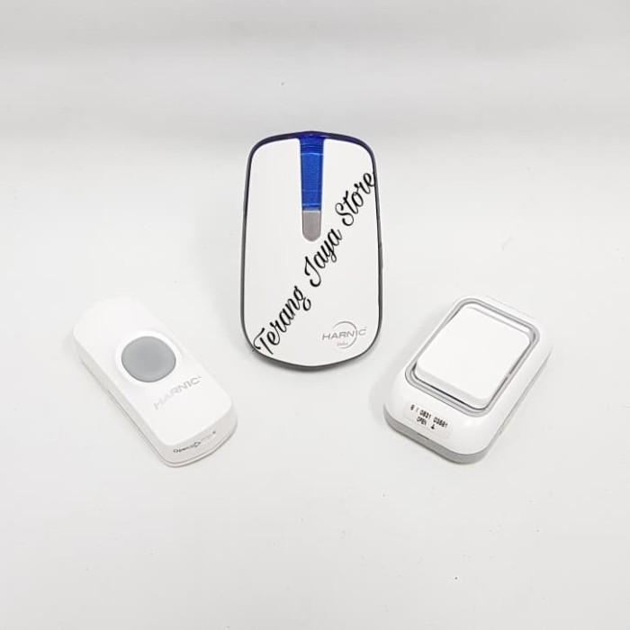 Bel Pintu Heles D-068 K2 Bel Pintu Wireless Heles D068K2 (2 remote)