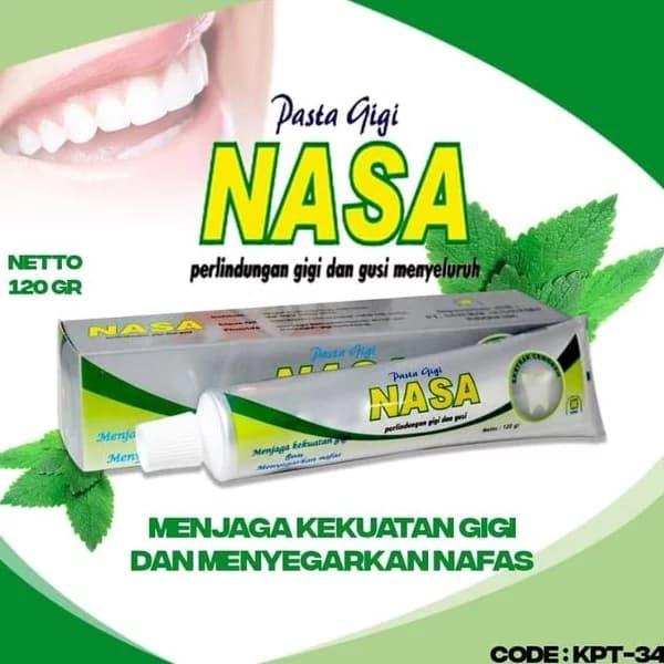 Jual Pasta Gigi Herbal Nasa Penghilang Bau Mulut Anti Linu Kab Tangerang Stockist Nasa Tangerang Tokopedia