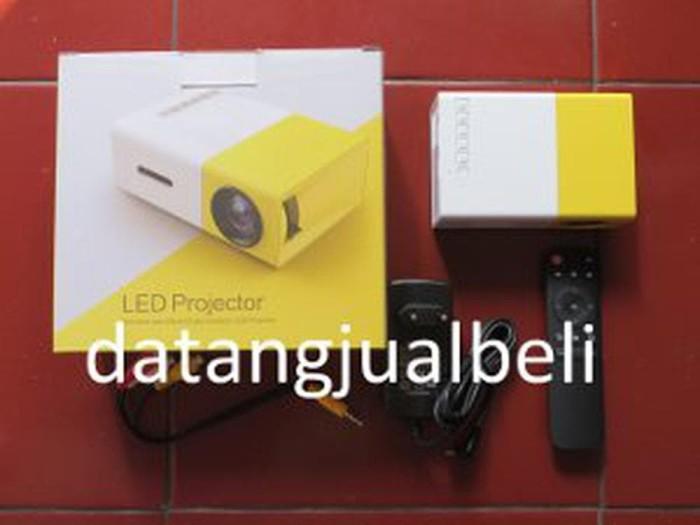 Mini Portable LED Projector Full HD with TF HDMI AV USB Port - YG-30