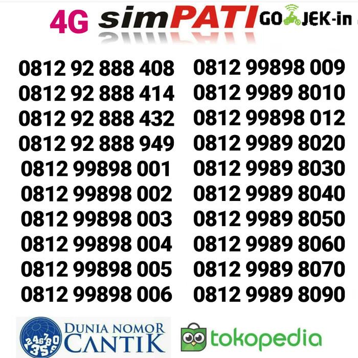 Nomor Cantik Simpati Telkomsel 4G
