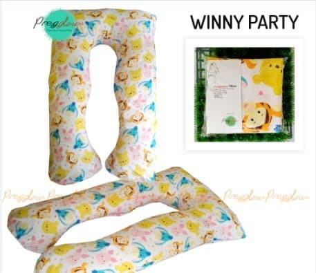 Maternity Pillow Banmil Bantal Hamil Guling Hamil motif winy party