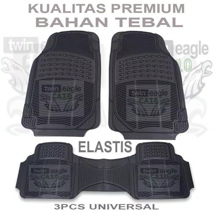 Jual Mini Morris Cooper Karpet Kualitas Premium Universal 3 Potong