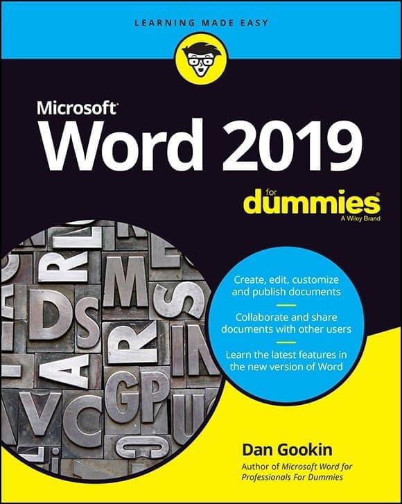 Word 2019 For Dummies - ebook.id