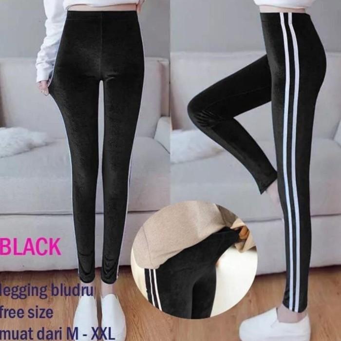 Jual Celana Legging Bludru Hitam Coklat Kab Bandung Qualityshopp Tokopedia