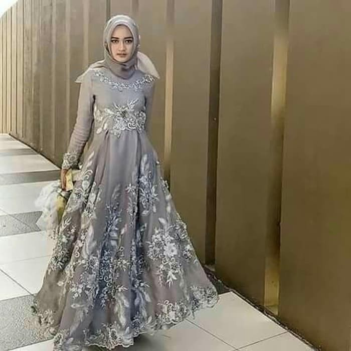 Model Dress Pesta Muslimah