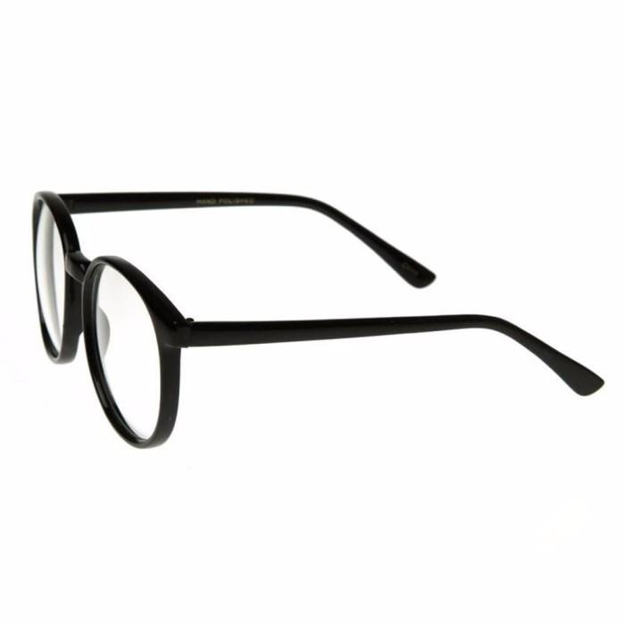 Indi Retro Round Clear Lens Fashion Glasses 14977 L Kacamata Wanita5 ... 513a756314