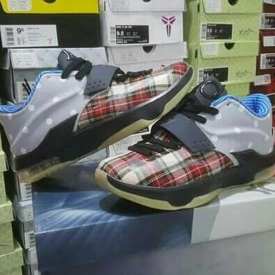 new styles 65873 103ca Jual Sepatu Basket KD 7 CNVS Plaid and Polka Dots - Kota Batam - panditshop  | Tokopedia