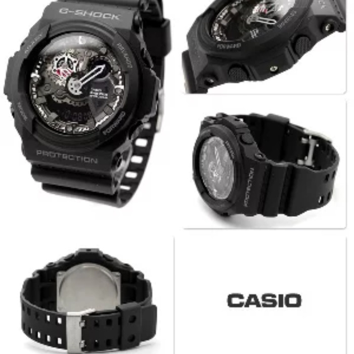 huge selection of 223ed 2ac7a man casio g-shock ga-300-1a series original