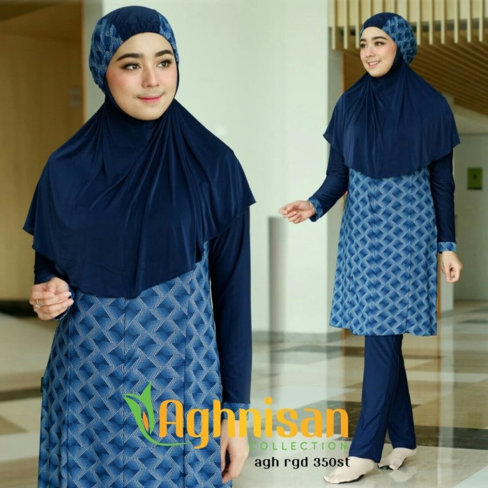 baju renang muslimah size L by aghnisan collection