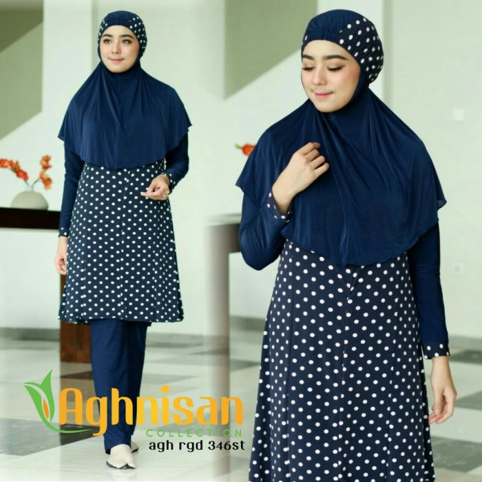 baju renang muslimah size M by aghnisan collection