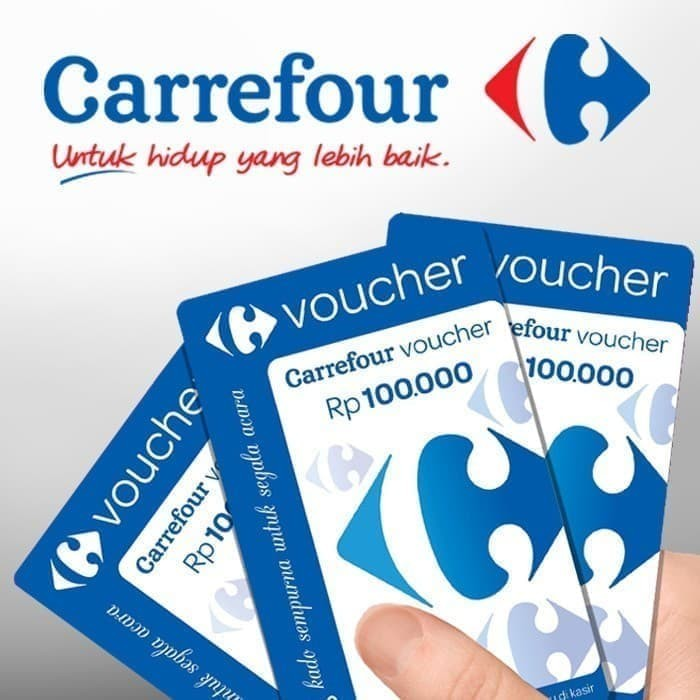 Foto Produk Voucher Carrefour nominal 100rb dari Alph4-Store
